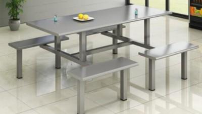 康胜食堂餐桌椅材料说明