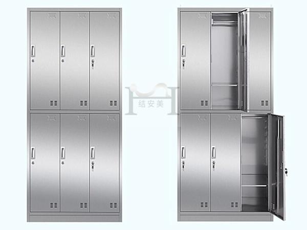 广州不锈钢员工衣柜