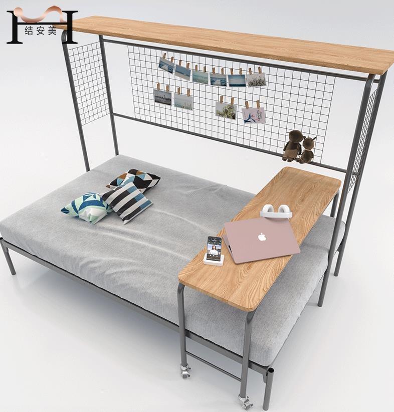 单层铁艺床价格