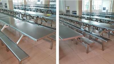 学校食堂餐桌椅耐用参数