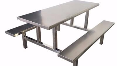 原来学校都购8人不锈钢餐桌
