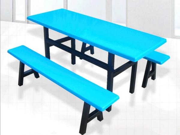 玻璃钢分体餐桌椅