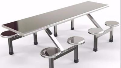 公司食堂用餐桌环保节能