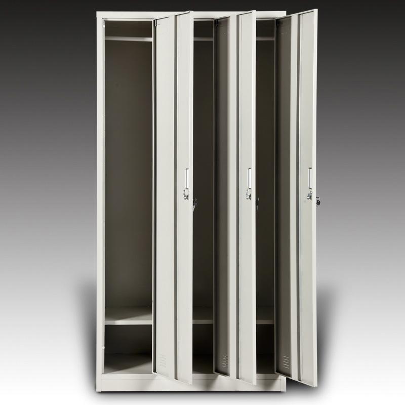 3门铁皮衣柜多少钱