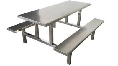 结实不锈钢餐桌椅