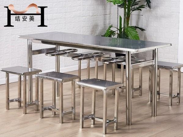 不锈钢餐桌椅挂凳
