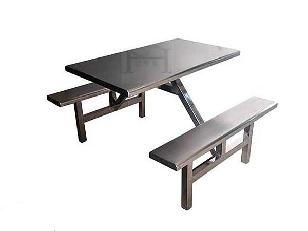 4人不锈钢餐桌