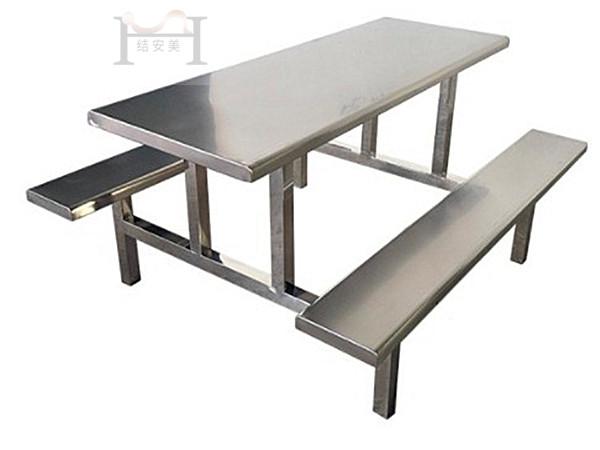 食堂不锈钢餐桌椅图片