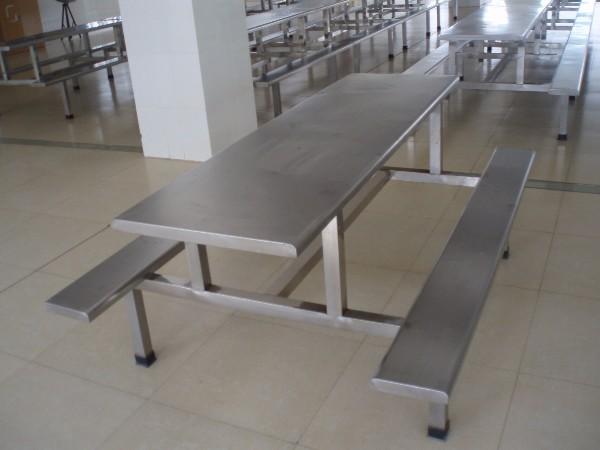 食堂餐桌椅-学生食堂餐桌-食堂餐桌批发-员工食堂餐桌-食堂8人餐桌