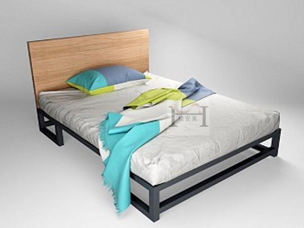 1.2米宽单层铁床