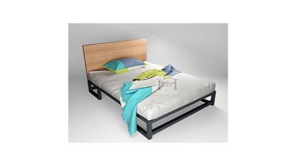 二人间宿舍铁床更加舒适