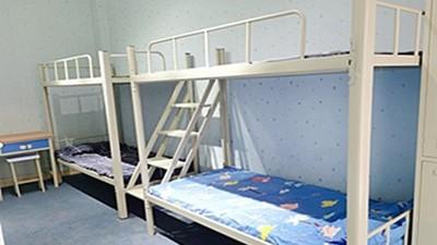 学生双层铁架床