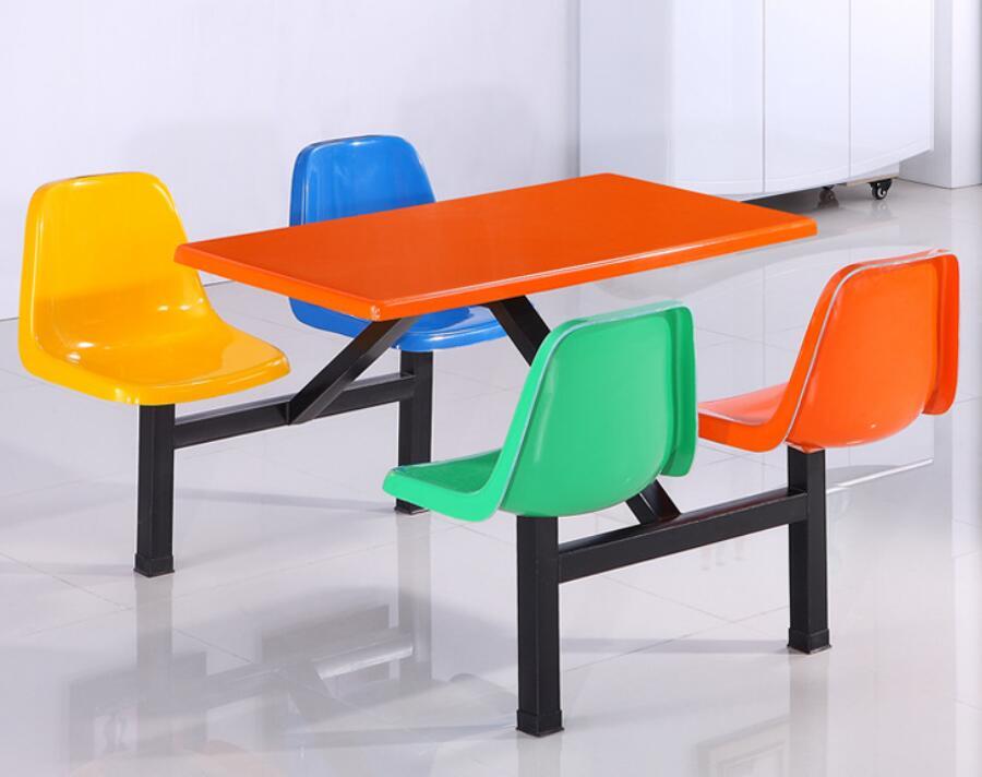 饭堂4人餐桌