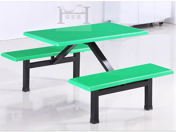 学生饭堂4人餐桌椅