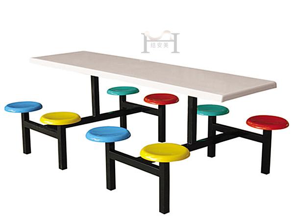 饭堂8人餐桌椅