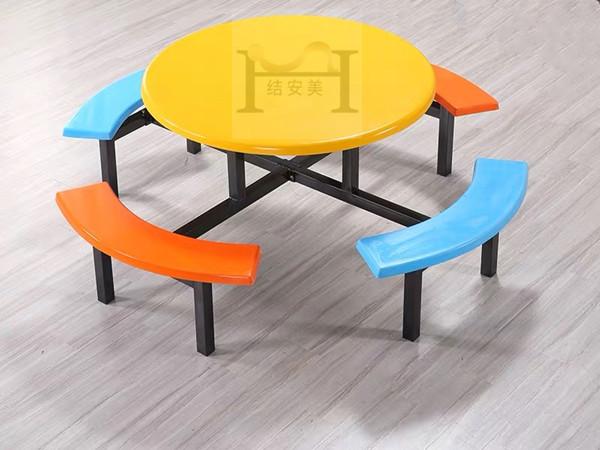 工厂食堂餐桌椅