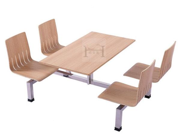 单位饭堂用餐桌椅