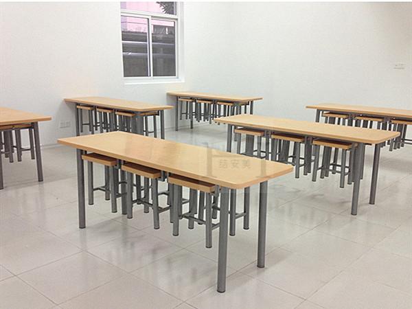 饭堂挂凳餐桌椅