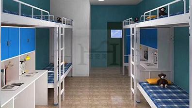 学生宿舍一体床厂家如何选择 康胜家具告诉你