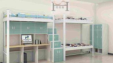 学生宿舍床厂家就找东莞康胜家具 产品好价格优