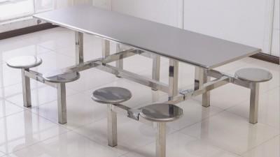 食堂不锈钢餐桌椅