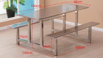 不锈钢餐桌椅生产厂家康胜家具